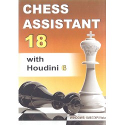 Chess Assistant 18 with Houdini 6 (P-0034)
