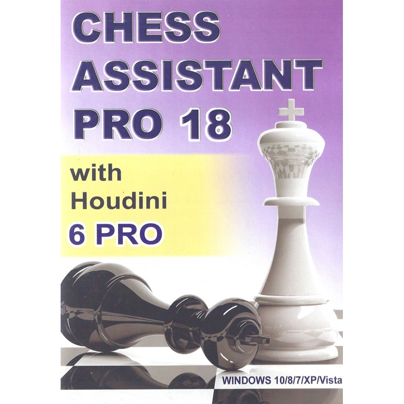 Chess Assistant 18 Pro With Houdini 6 Pro P 0035 Caissa Chess Shop