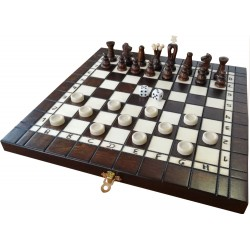 Backgammon, Chess and Checkers (O-0001/S)