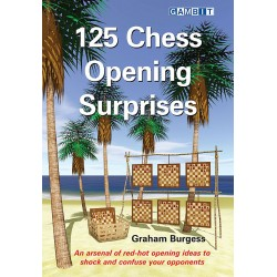 125 Chess Opening Surprises by Graham Burgess (K-5375)