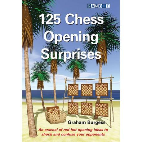 125 Chess Opening Surprises by Graham Burgess (K-5375)