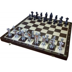 Medieval Silver Chess (S-180)