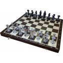 Medieval Silver Chess / Wenge (S-180)