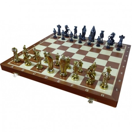 Medieval Gold Chess No. 6 (S-178)