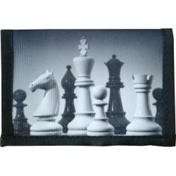 Wallet with chess motif (A-109)