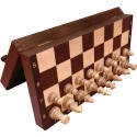 Magnetic chess / Wenge / Inlaid (S-171)