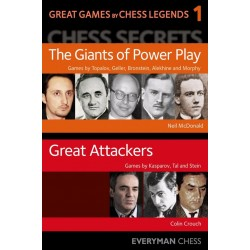 Great Games by Chess Legends, vol 1 by Neil McDonald and Colin Crouch (K-5417)