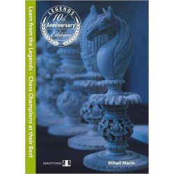 "Michail Marin. ""Learn from the Legends: Chess Champions At Their Best"" (K-4003)"