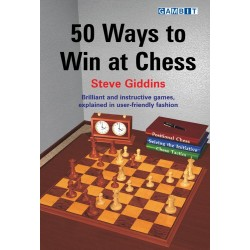 "Steve Giddins ""50 Ways to Win at Chess"" (K-739/ww)"