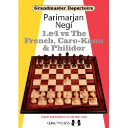 "Parimarjan Negi ""1.e4 vs The French, Caro-Kann & Philidor"" (K-3648)"