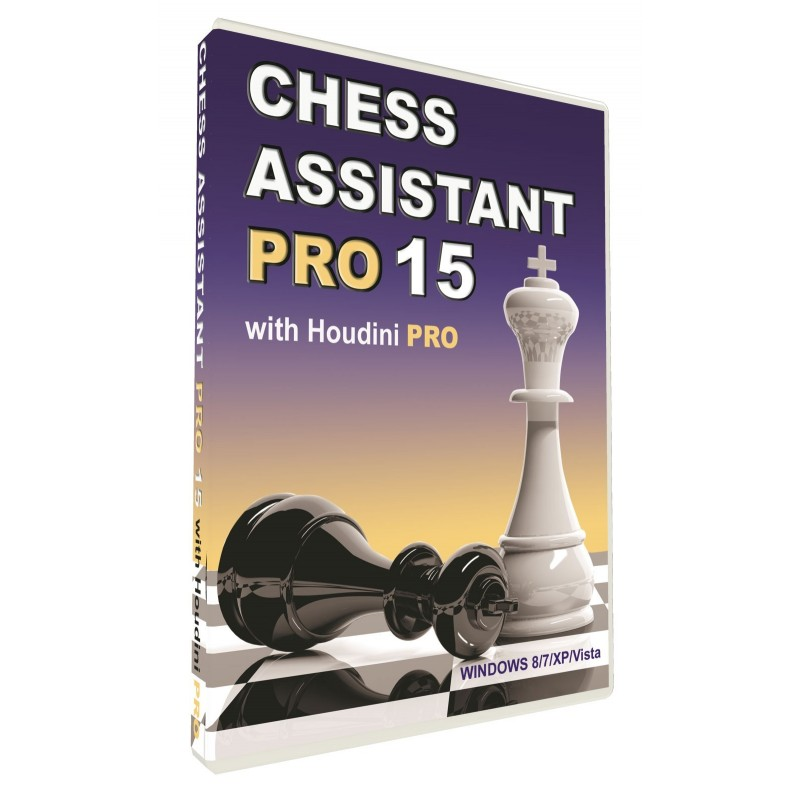 Chess Assistant 15 Pro Dvd P 49215pro Caissa Chess Shop