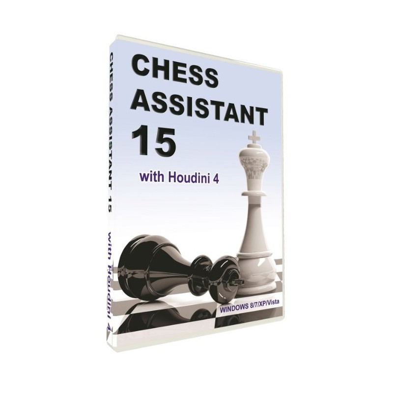 Chess Assistant 15 Dvd Cp0001 Caissa Chess Shop