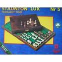Chess Staunton Lux in wooden case ( S-10 )