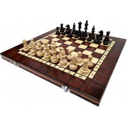 Professional Tournament Chess / Burned 40x40 cm (S-11 / W / W)