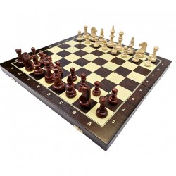 Professional Tournament Chess Set (wooden) 48x48 cm (S-12/z)