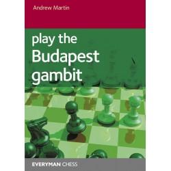 Play the Budapest Gambit - Andrew Martin (K-6016)