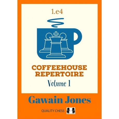 Coffeehouse Repertoire 1.e4 - Gawain Jones (K-6021)