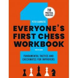 Everyone's First Chess Workbook - Peter Giannatos (K-6050)