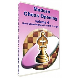 Modern Chess Opening vol. 4 Semi-Closed Games 1.d4 Nf6 2.c4 g6 (P-510/4)