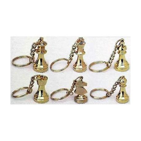 Chess pendants (gold)