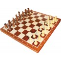 Chess Tournament No. 6 American (mahogany marquetry) - S-002