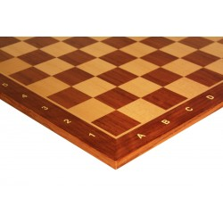 Wooden Chessboard No. 5 - exotic wood Paduka (D-0001)
