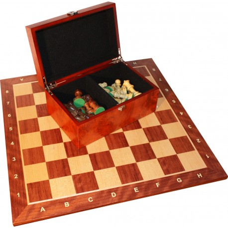 """Tournament Chess Set no. 5 """"American"""" Exclusive exotic wood - S-005"""