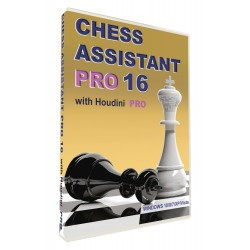 Chess Assistant 16 Professional + Houdini PRO (P-492/16/PRO)