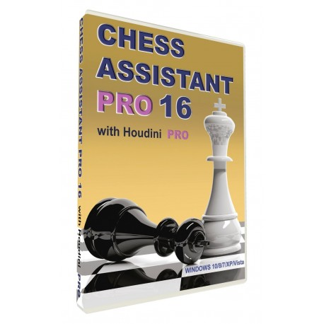 Chess Assistant 16 Professional + Houdini PRO (P-492/16/PRO)
