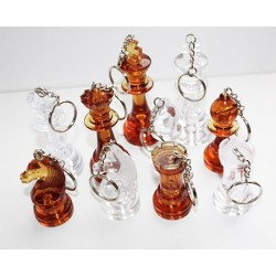 Key rings amber figures (A-12/br/f)