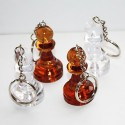 Key rings amber pawn (A-12/br/p)