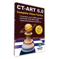 CT-ART 6.0 Complete Chess Tactics (P-365/6)