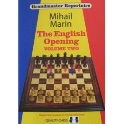 Grandmaster Repertoire 4 - The English Opening vol. 2 by Mihail Marin ( K-3258/2 )
