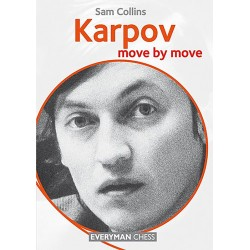 Sam Collins - Karpov. Move by move (K-5109/2)