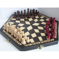 Chess for three players / Medium (S-61)
