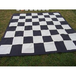 Chessboard for garden checkers and for chess garden (S-43/sz/br)