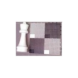 Chess board for garden chess pieces ( S-43/SZ )