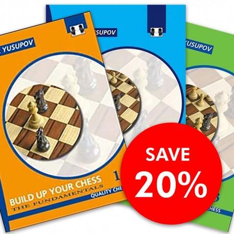 Artur Yusupov - Build up your Chess 1 - 3 SET (K-2267/set)