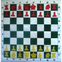 Magnetic Rollable DEMO Chessboard 77 x 77 cm (S-71/a)