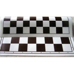 Rolled, double-sided Chessboard (Chess + 100 Field Checkers) (S-37)