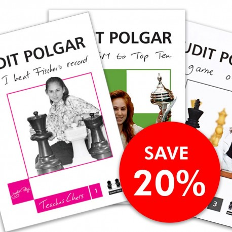 Judit Polgar - Teaches Chess 1, 2, 3
