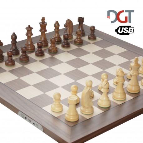 DGT e-Board USB Walnut (S-44/a)
