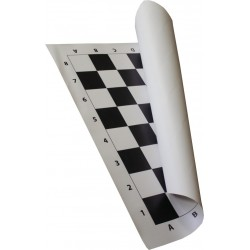 Roll Up Chess Board no. 6 (black) - Tournament (S-36/cz)