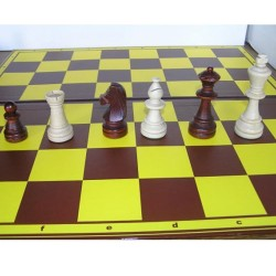 10x Set of Wooden Chess Staunton No. 6/II (S-3/II/set)