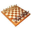 Chess Roman - metallized (S-16/BHB/M)