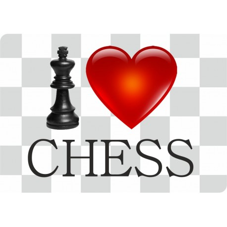 "Mouse Pad ""I Love Chess"" (A-74/04)"