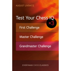 Test Your Chess IQ: First Challenge, Master Challenge, Grandmaster Challenge(K-5279)
