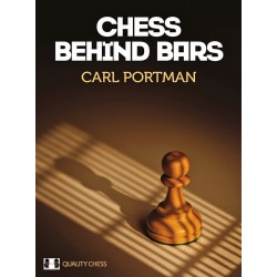 Carl Portman - Chess Behind Bars (hardcover) (K-5272)