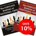 """Set of """"The Complete Manual of Positional Chess"""" Vol. 1 and 2. (K-5180/set)"""
