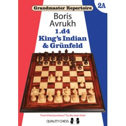 Grandmaster Repertoire 2A - King's Indian and Grunfeld by Boris Avrukh (K-5355)